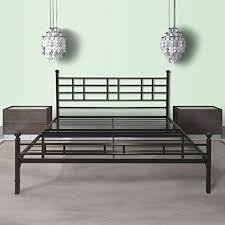 Metallic Bed Frame Best Price Mattress Model H Easy Set Up Steel Platform