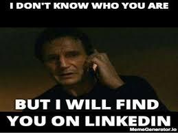 Webinar Meme - linkedin profile webinar