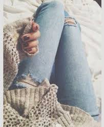 pattern jeans tumblr ripped jeans outfits the ripped and distressed jeans are back