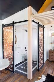 lovely and simple tiny house bathroom ideas shower teak mini