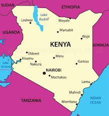 Kenya Africa Map by Kenya