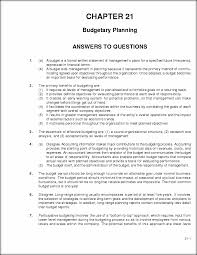 chapter 21 solutions chapter 21 budgetary planning answers to