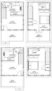 12x28 tiny house 12x28h4 605 sq ft excellent floor plans