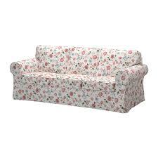 sofa bunt ektorp three seat sofa videslund multicolour ikea