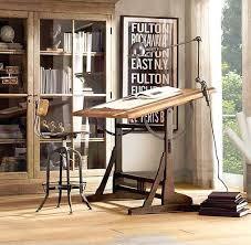 Ergonomic Drafting Table Ergonomic Restoration Hardware Office Desk For Home Design St