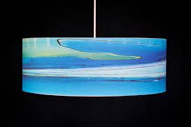 Aqua Pendant Light Pendant Lamps Rowan Chase Studio