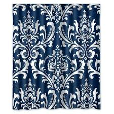 navy blue patterned curtains coral patterned curtains beautiful