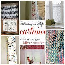 Free Curtain Patterns 61 Best Curtain Ideas Crochet Images On Pinterest Curtains