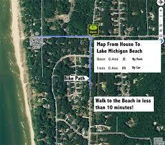 Grand Haven Map Home Drifting Dunes Retreat
