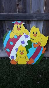 Wooden Outdoor Easter Decorations by 15 Best Easter Yard Decorations Images On Pinterest Easter