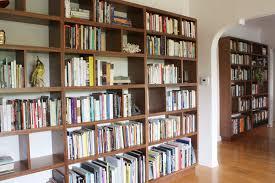 Wall Bookcase Portfolio Walnut Bookshelf Wall Offerman Woodshop