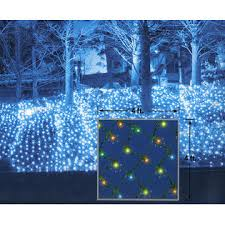 everstar set of 70 multi color twinkling net style led