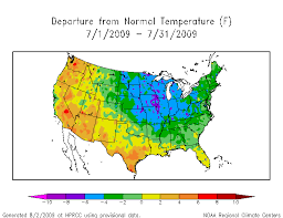 temperature map florida climate events of 2009 illinois state climatologist office