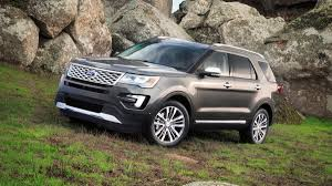 Ford Explorer Grill Guard - 2016 ford explorer platinum first drive photo 1 2016 ford
