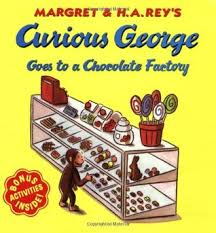 curious george chocolate factory margret rey