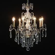 French Chandelier Antique Antique French Cut Glass Gold Chandelier 8 Arm