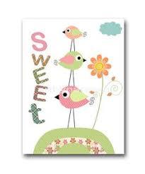 Bird Decor For Nursery Bird Decor Nursery Print Nursery Decor Baby Nursery Room