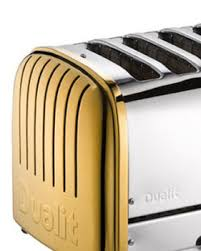Arsenal Toaster Dualit 24 Carat Gold Toaster Goes On Sale At Selfridges For A