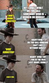 Coral Meme - the walking dead 23 of the funniest rick carl dad jokes smosh