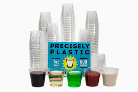 disposable cups glasses premium 1oz clear plastic disposable cups 500 ct