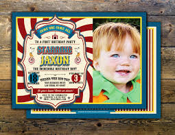 first birthday circus first birthday circus ticket carnival ticket invitation