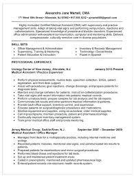 resume summary of qualifications management resume summary of skills