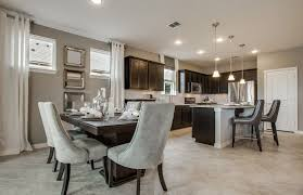Transitional Dining Rooms Dining Room With Limestone Tile Floors U0026 High Ceiling Zillow