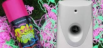 silly string how to turn an automatic air freshener dispenser into a silly