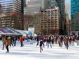 the best ice skating rinks in new york city mapped