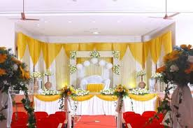 wedding stage decoration and reception stage decoration service