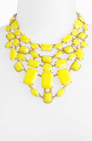 yellow jewelry necklace images Best 25 yellow statement necklaces ideas statement jpg