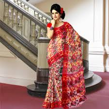 dhakai jamdani saree buy online buy exclusive indian handloom sarees online banglarsare