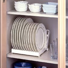 Kitchen Cabinet Plate Organizers Baker Rack Archives Home Furniture