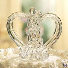 glass wedding cake toppers wedding cake topper the wedding specialiststhe wedding