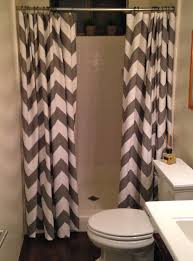 Gray And White Chevron Curtains Red And Gray Chevron Shower Curtain U2022 Shower Curtain Design