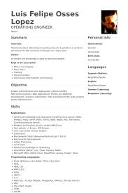 Systems Engineer Resume Examples by Automation Engineer Resume Samples Visualcv Resume Samples Database