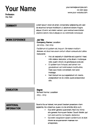 Ut Sample Resume by Best Resume Templates U0026 Cv Layout Free Calendar Template Letter
