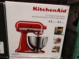 kitchen aid mixer kitchenaid 4 quart tilt head stand mixer costco 2 jpg