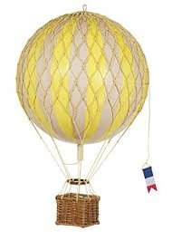 air balloon authentic models travels light