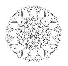 22 printable mandala u0026 abstract colouring pages meditation