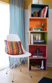 Colored Bookshelves by 36 Brilliant Ways To Beautify Boring Bookshelves Brit Co