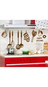 buy walltola wall decals stylish kitchen art wall sticker online