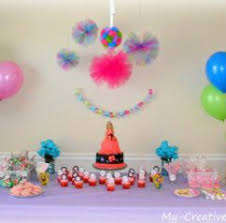 Decoration Of Cake At Home Simple Decoration Ideas For Birthday Party At Home Image