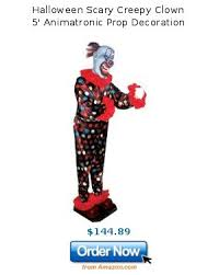 halloween scary creepy clown 5 u0027 animatronic prop decoration