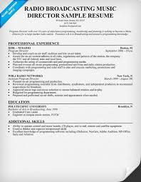 Program Management Resume Examples by Radio Promotions Director Cover Letter Resume For Promotion