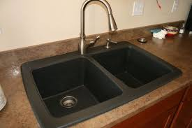 Kitchen Sink Black Battle Of The Black Granite Composite Sink Whimsy Gal