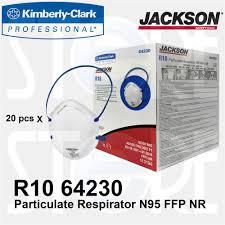 Masker Nr jackson safety r10 particulate respirator n95 mask 20 pcs box