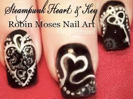 robin moses nail art anti vaentine u0027s day nail art design ideas