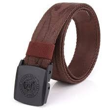 belt buckle allergy coffee enniu korean style adjustable weaving belt anti