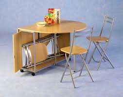 furniture foxy drop leaf kitchen table chairs folding stored